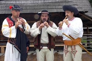 Bačovské trio - hra na píšťalke