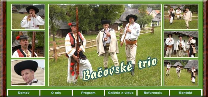 Stránka - Bačovské trio