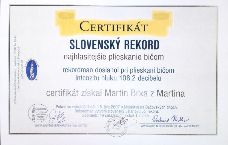 certifikat-slovensky-rekord-najhlucnejsi-bic-brxa